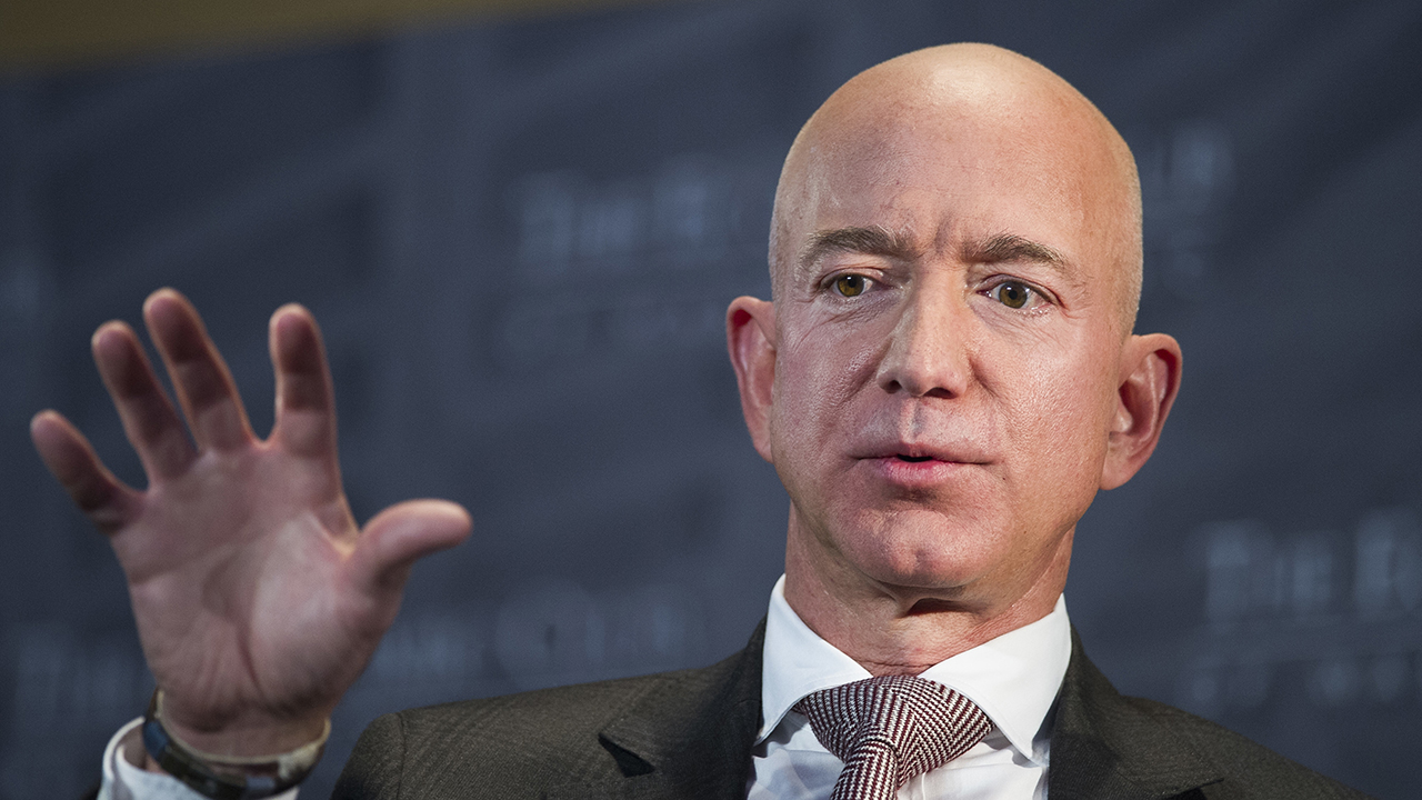 Jeff Bezos plays hooky, goes back to school