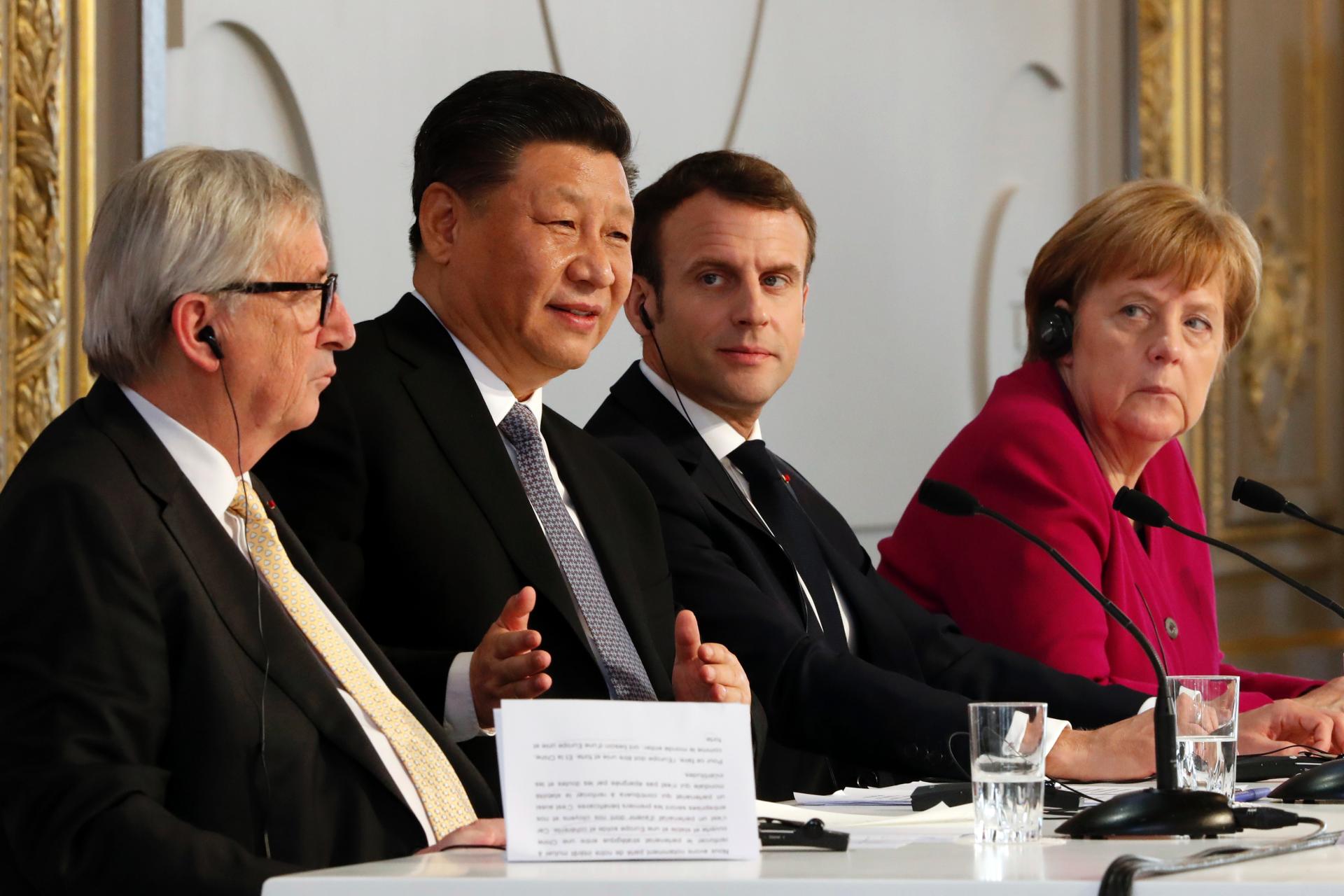 China's Xi, European leaders form trade policy partnership