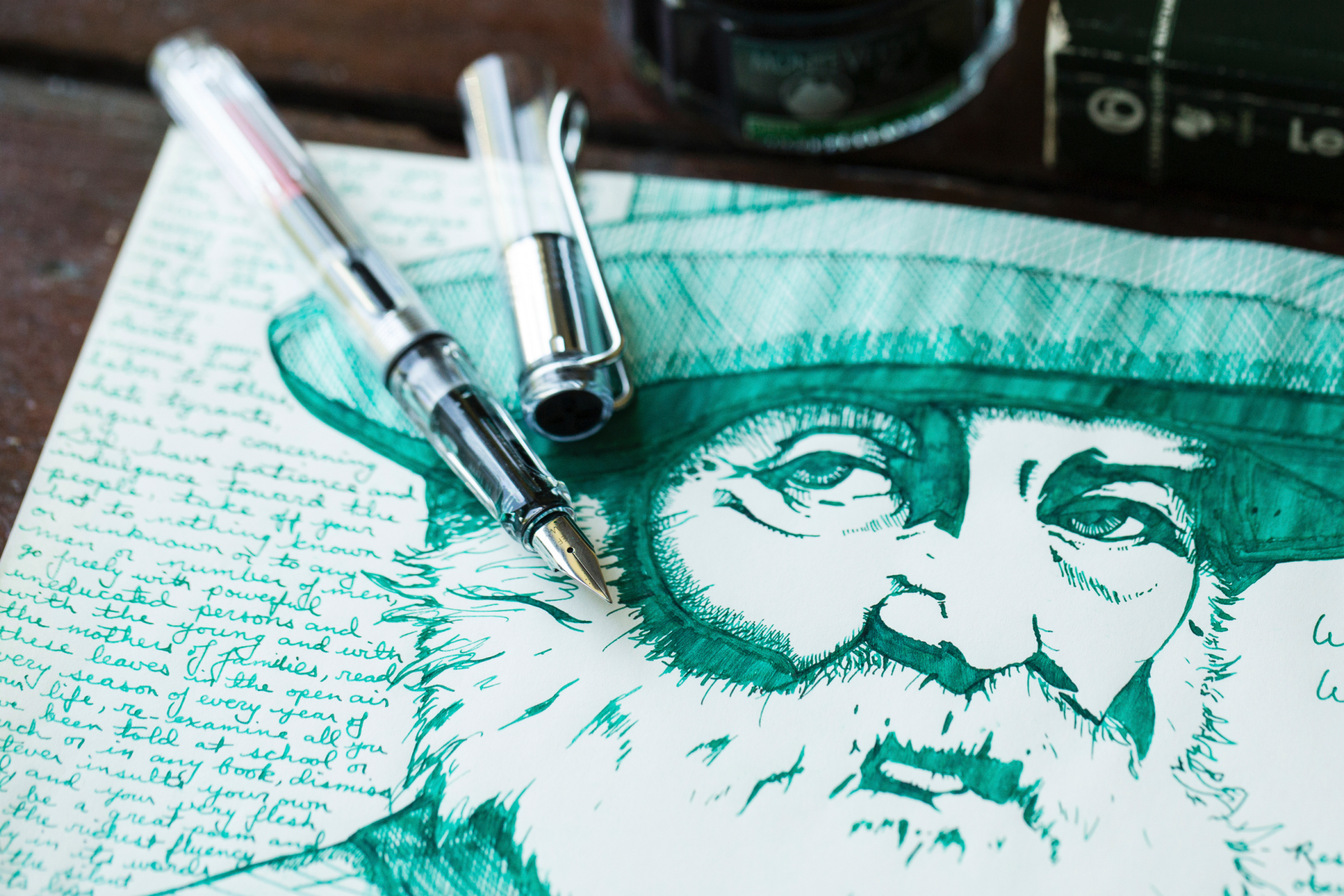 Analog and then some: the allure of the fountain pen