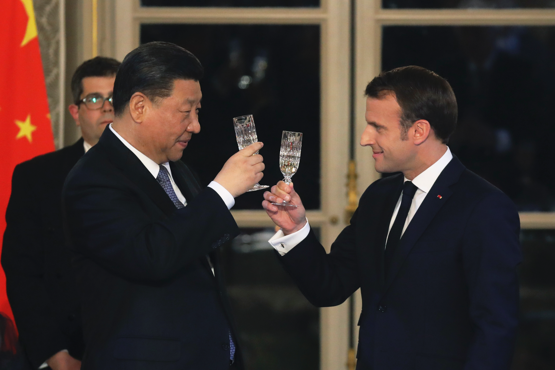 China's president meets European leaders on deal-filled trip