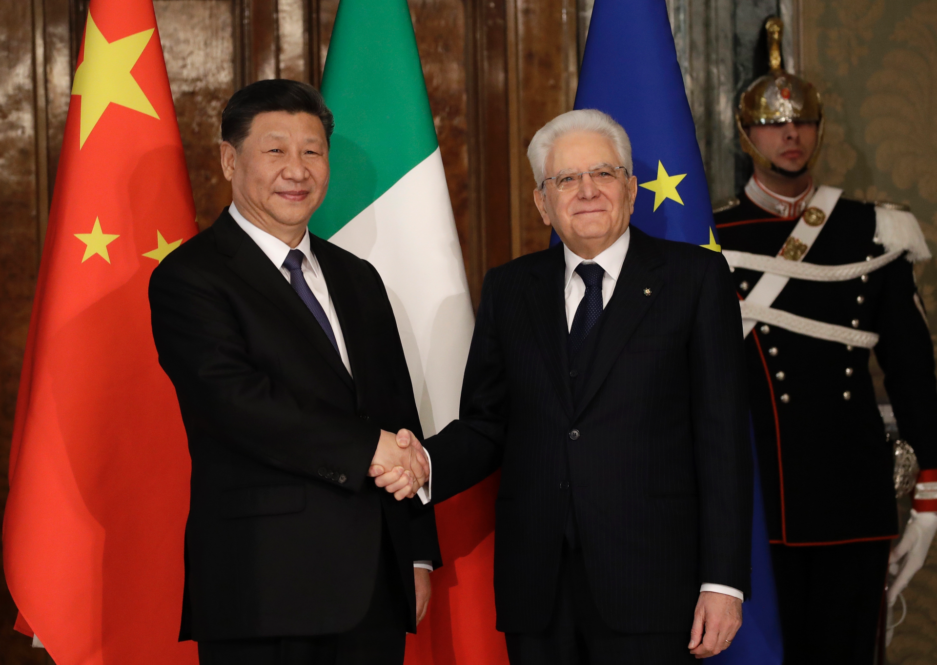 Italian move to join China's Belt and Road coup for Beijing