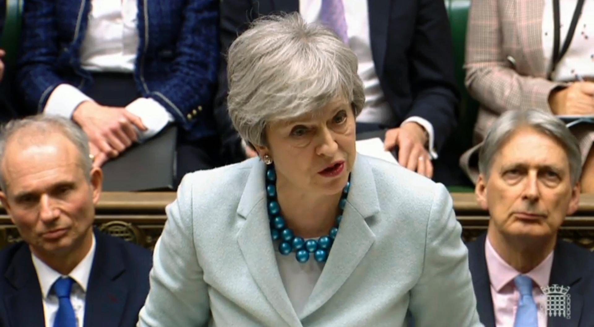 UK government defiant over May's Brexit deal despite setback