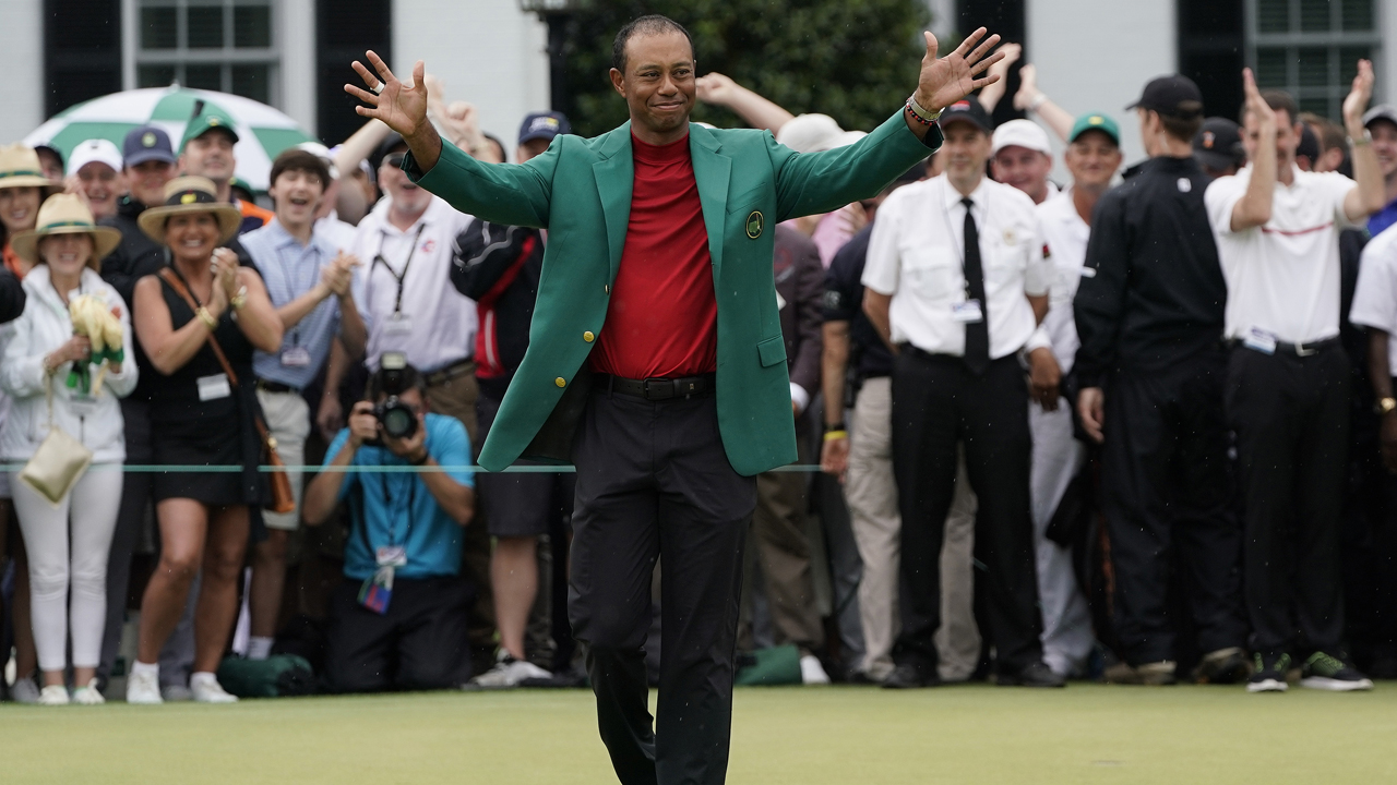 Tiger Woods to earn Medal of Freedom after Masters win, joins star-studded list of athletes