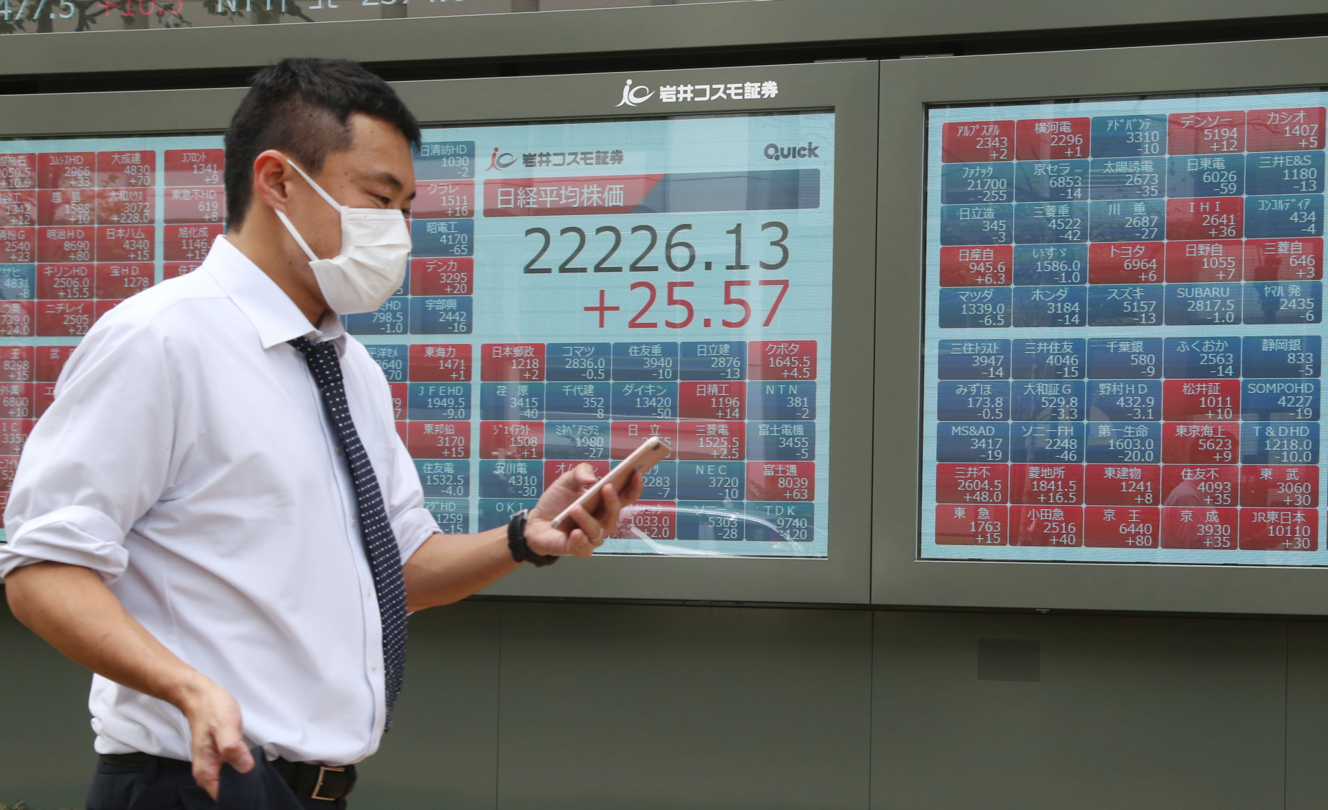 Asian markets lower, oil rises on Iran concerns