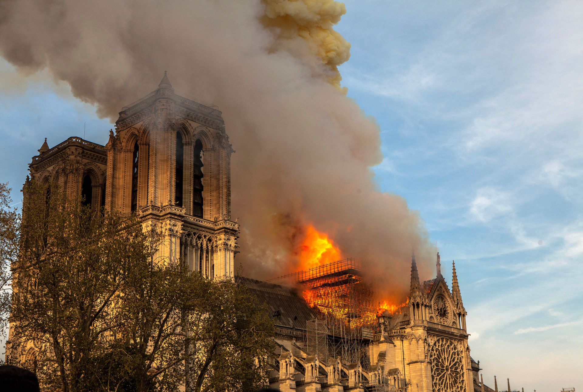 Worth the risk? It's not easy to put a value on a cathedral