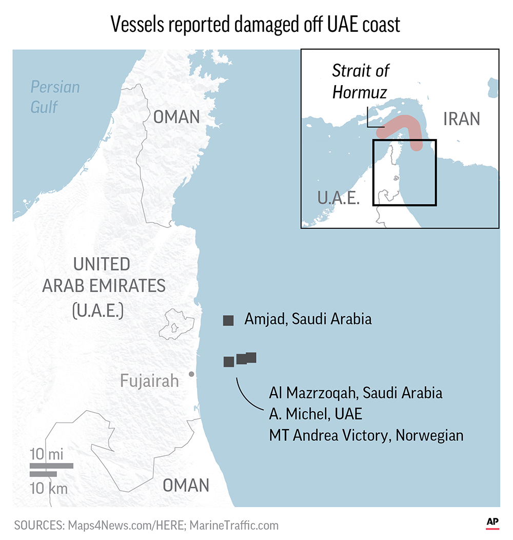 AP EXPLAINS: Strait of Hormuz, a vital global oil route