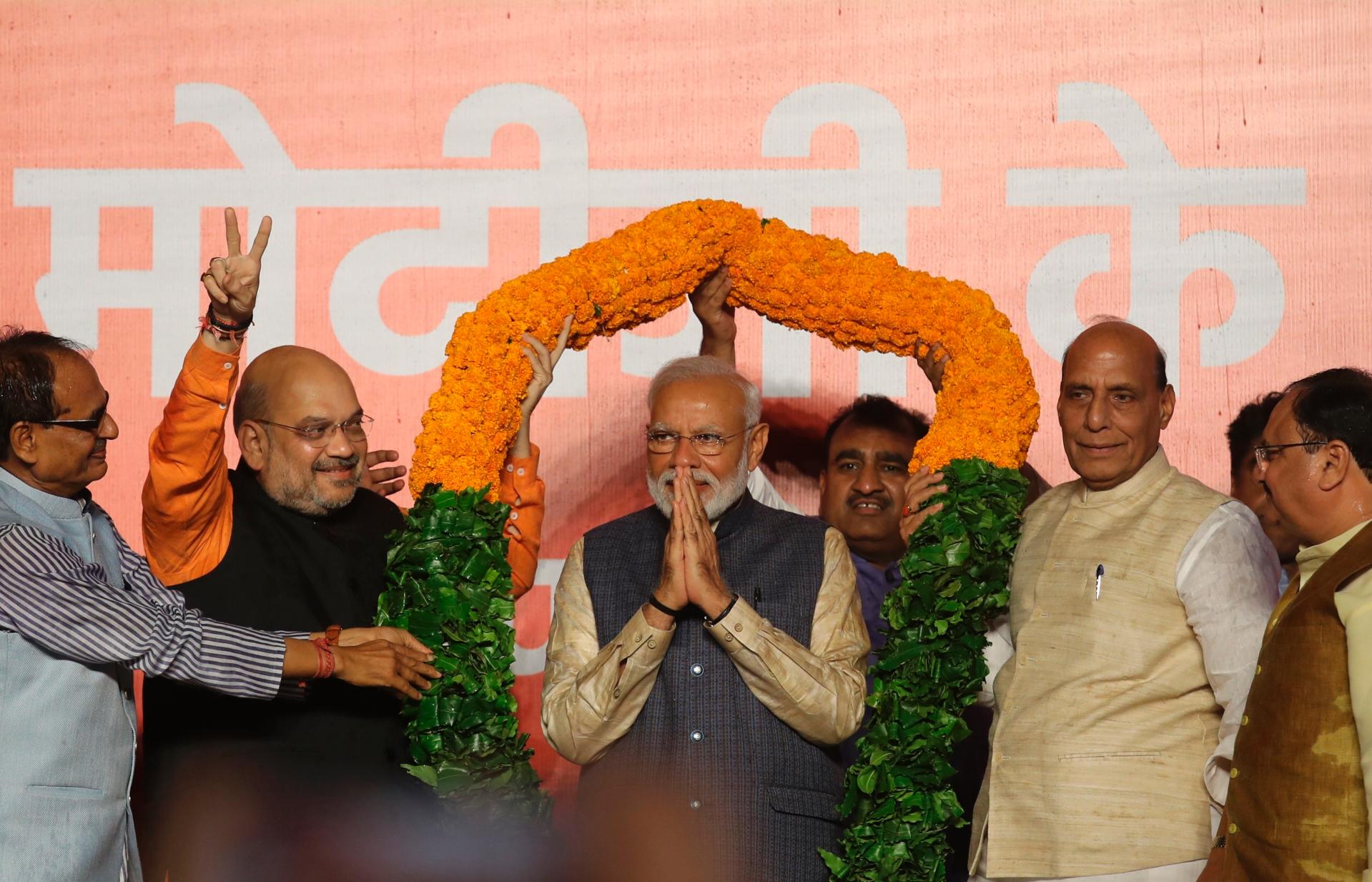 Analysis: Economy, Hindu-first impact are Modi's challenges