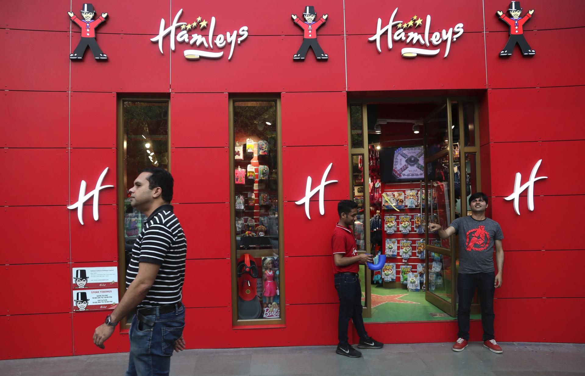 Indian company buys famous UK toy retailer Hamleys