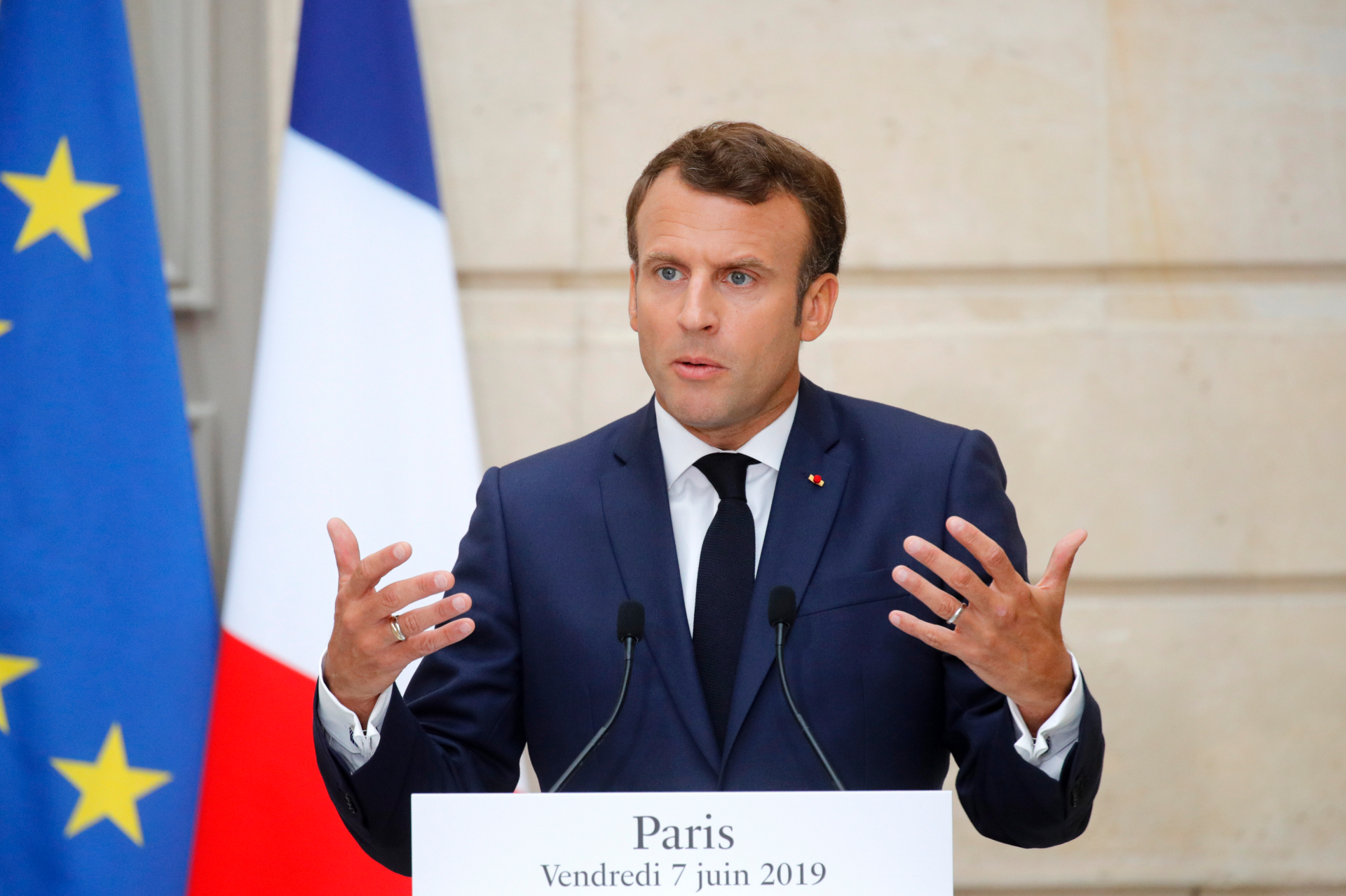 France's Macron to promote climate effort at G-7 summit