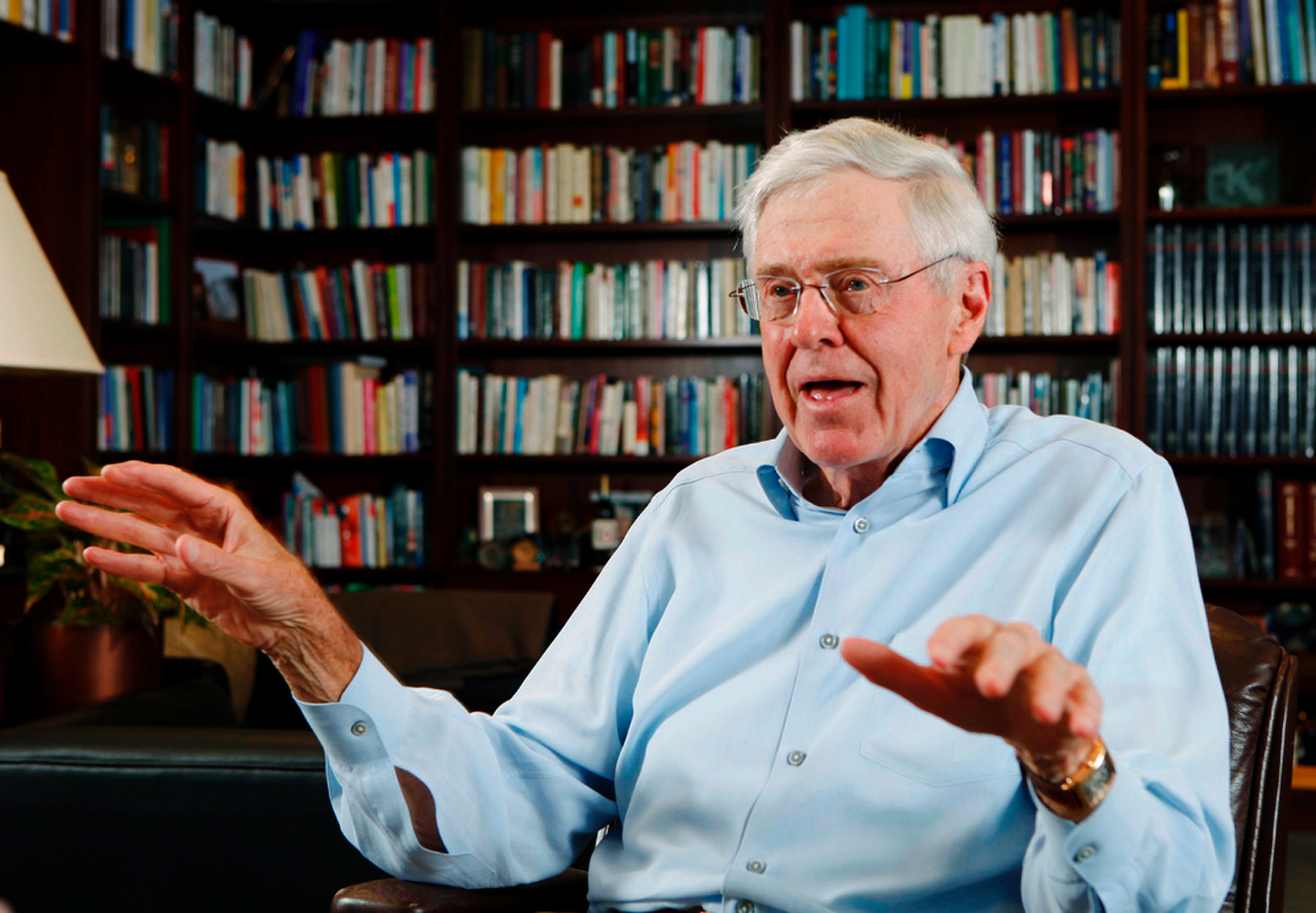Koch tackles poverty by coaching nonprofits on business