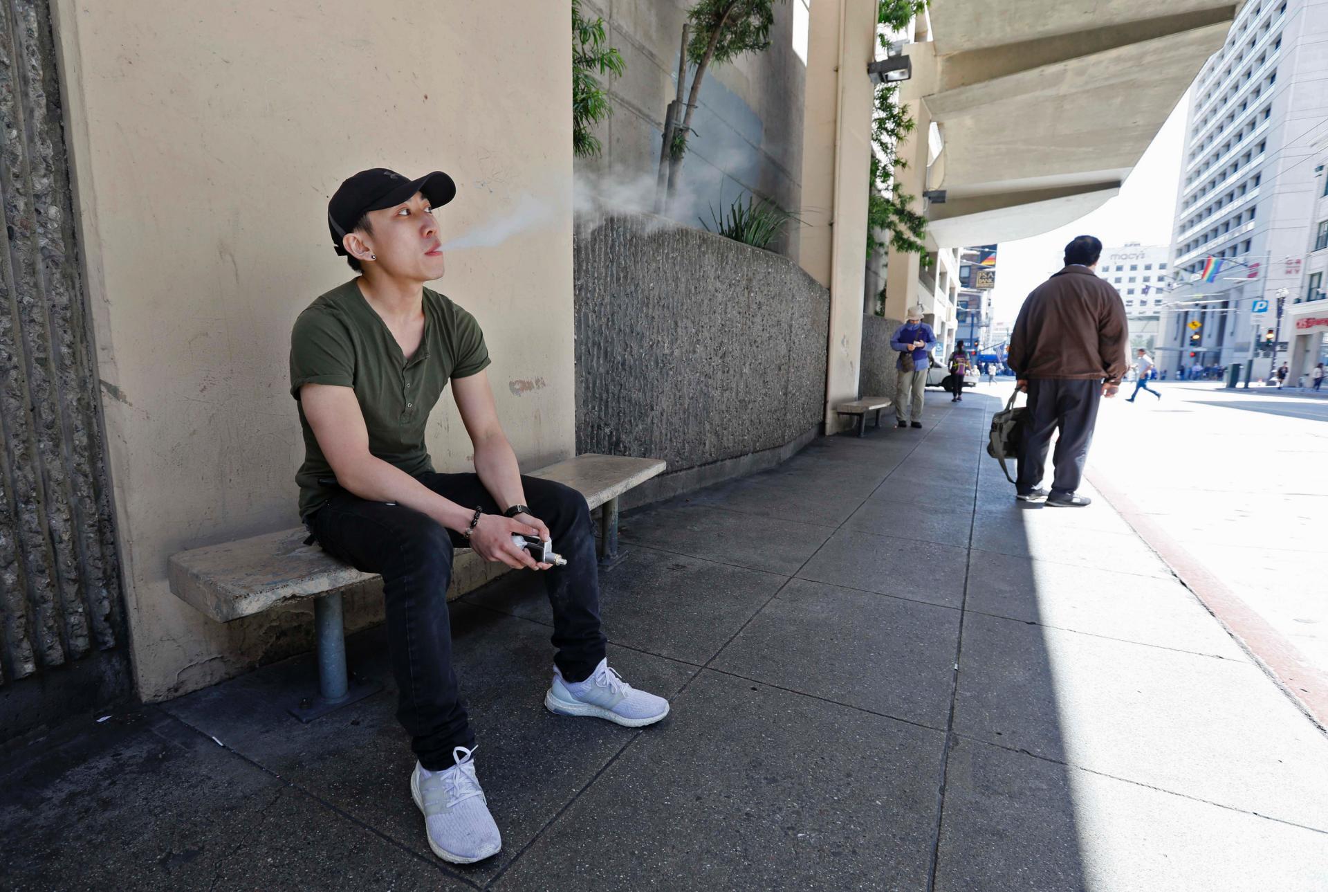 The Latest: San Francisco closer to ban on e-cigarette sales