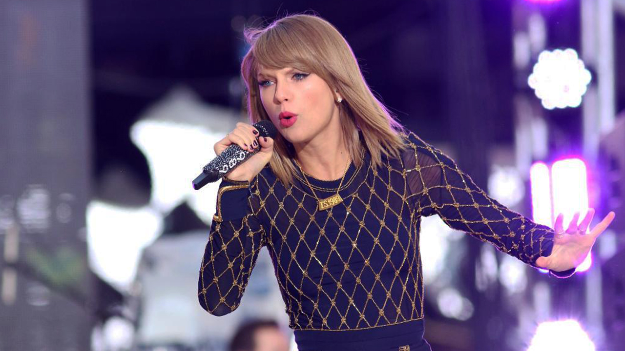 Taylor Swift releases Christmas song and video 'made from home videos'