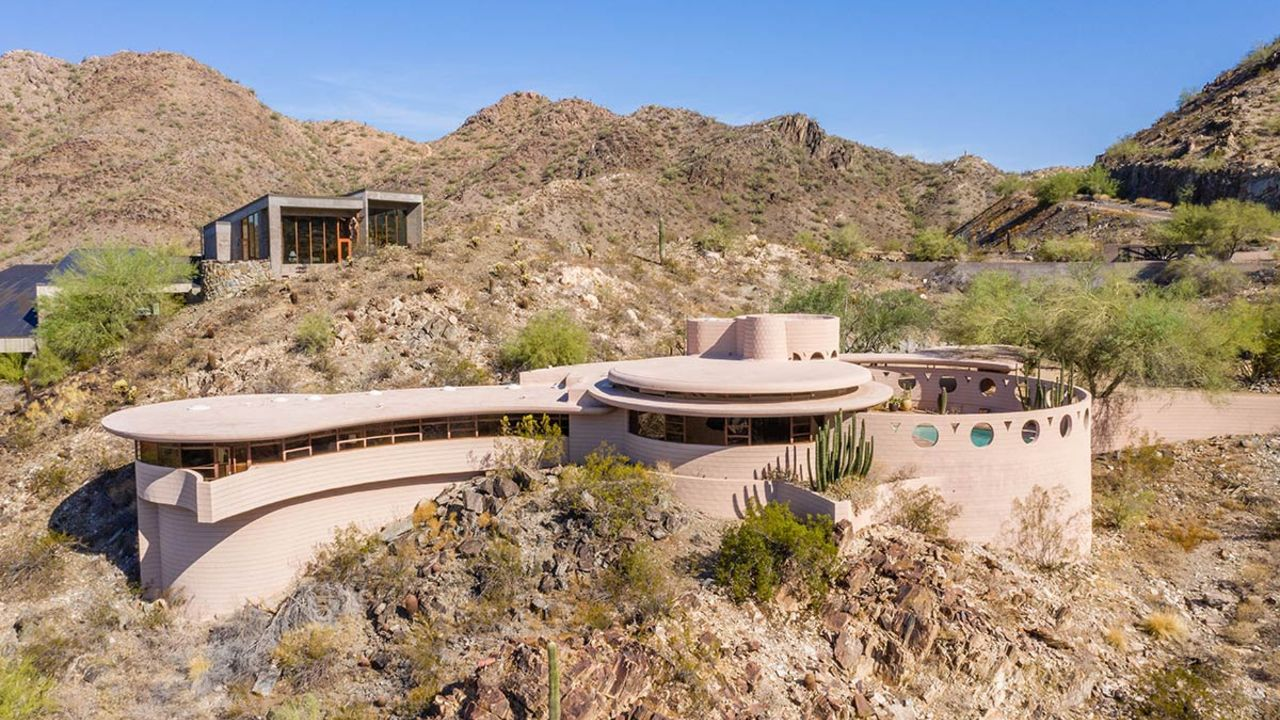 Frank Lloyd Wright's last residential design sold at auction. Here's how much