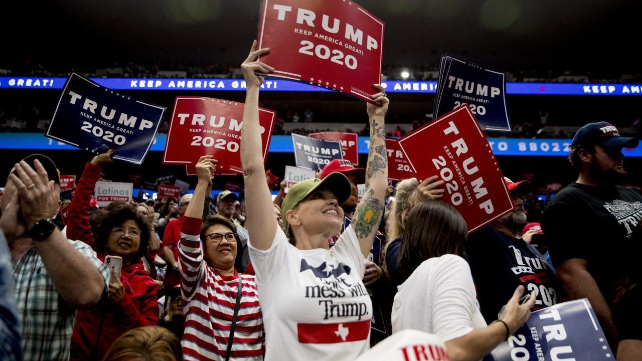 Here's how much Trump's campaign rally cost the city of Dallas