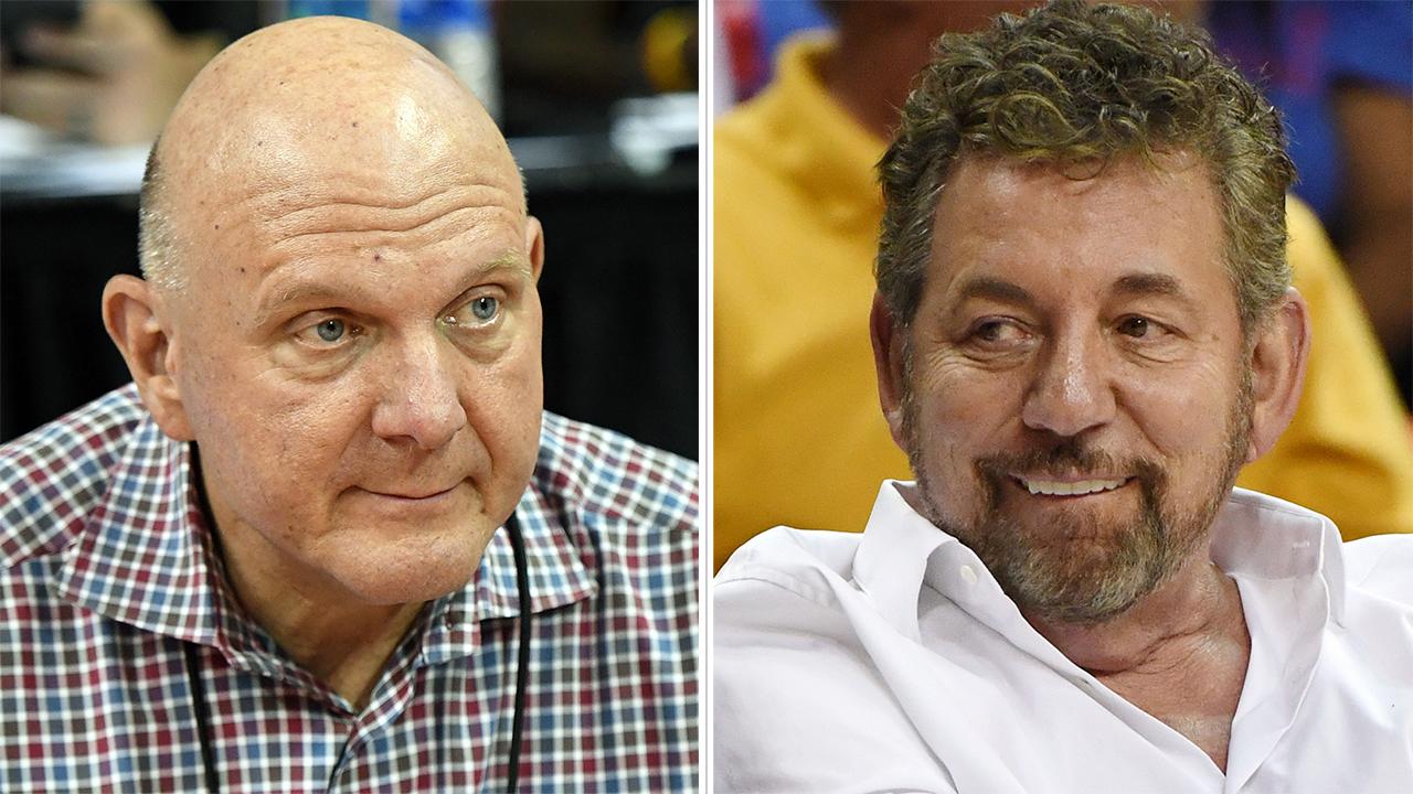 Steve Ballmer, James Dolan feud: MSG fires back at Clippers owner over stadium plans