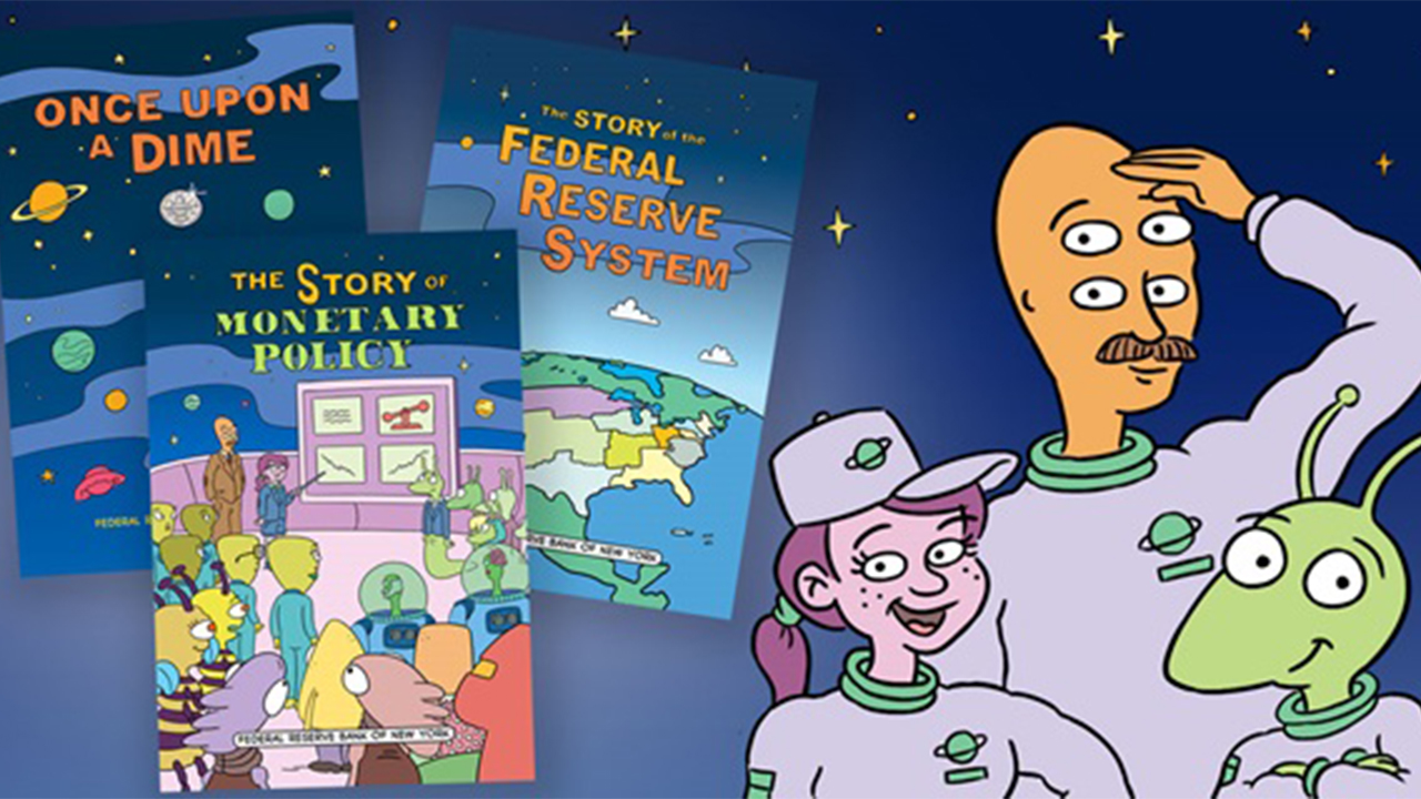 POW! The Fed fights the evil doers of financial illiteracy with comic books