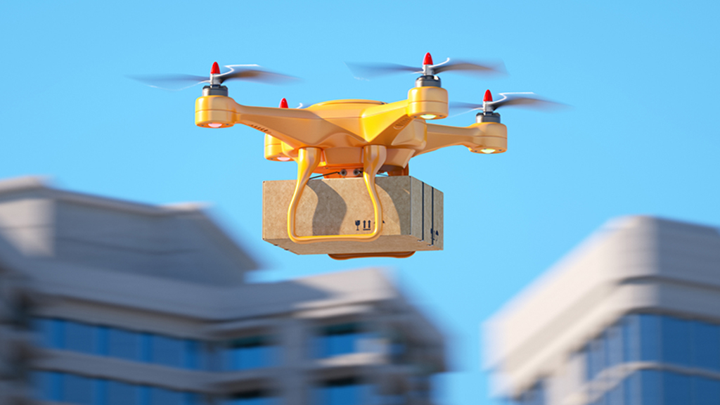 Online shoppers react to products delivered by drones