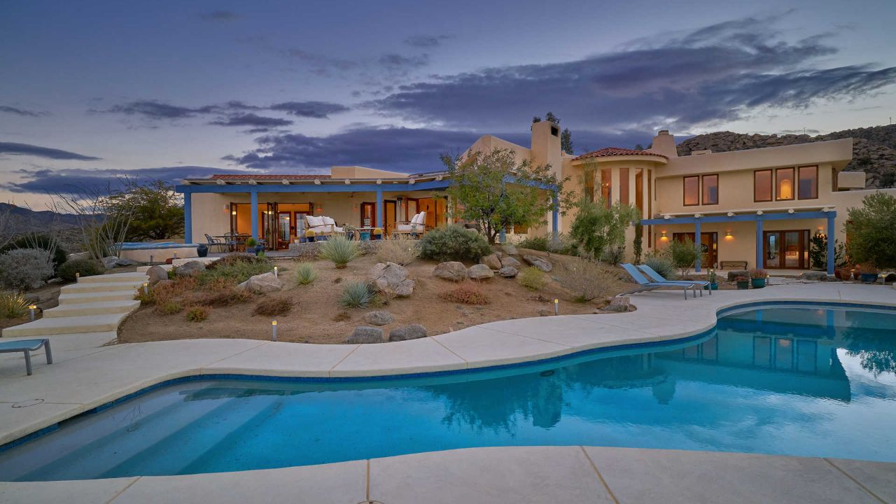 $6M Gucci house overlooks Coachella Valley from 15 mountaintop acres