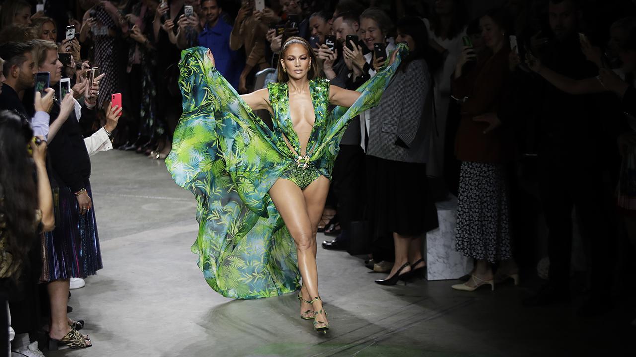 Fashion Nova sued for copying Jennifer Lopez's iconic Versace dress