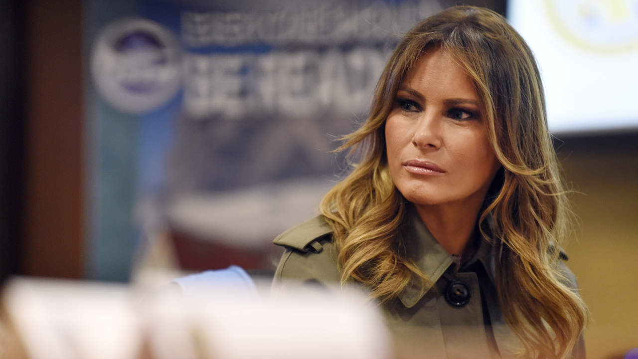 Melania Trump learns about preparedness with 5th graders