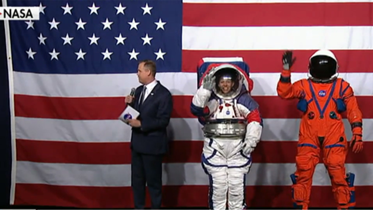 NASA reveals 2 new spacesuits for the Moon