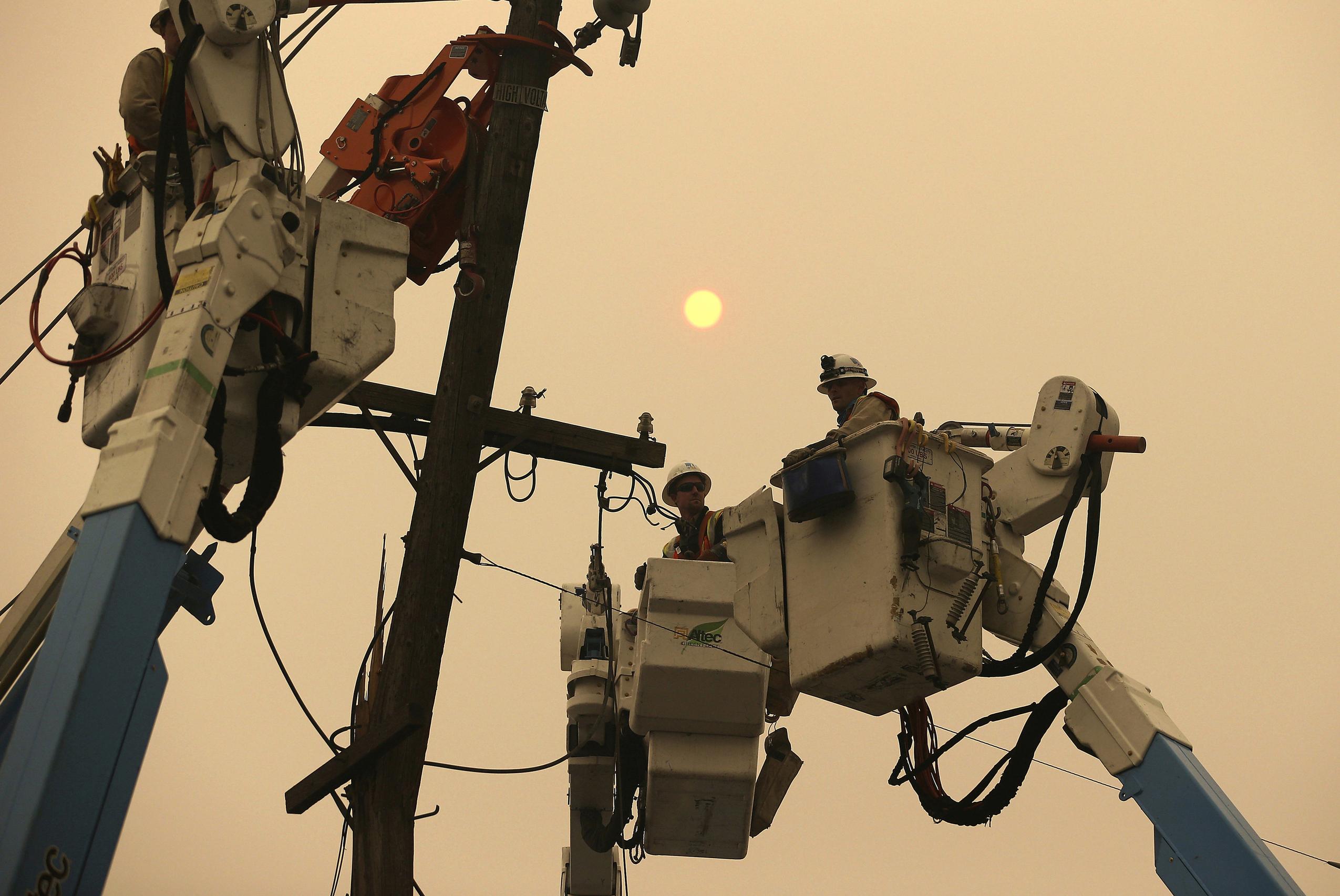 PG&E says San Francisco, northern California to lose power