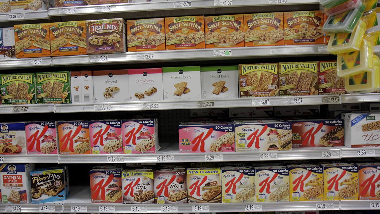 Changing snack appetites leave granola bars behind