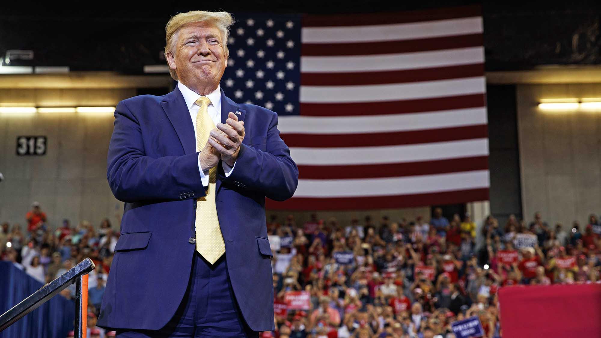 President Trump announces sanctions against Turkey