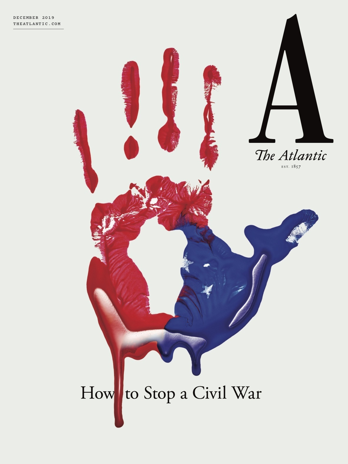 Provocative Atlantic asks how civil war can be avoided