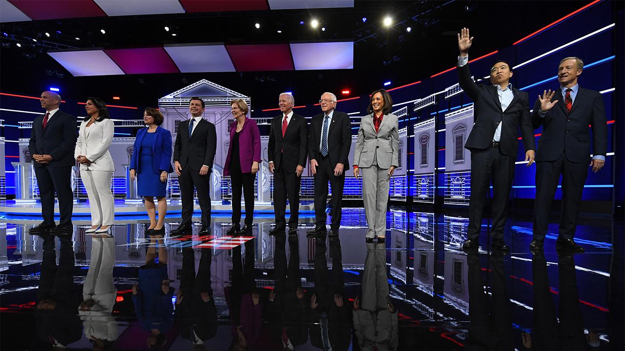 Sen. Booker takes on Sen. Warren on tax plan and 'growing wealth'