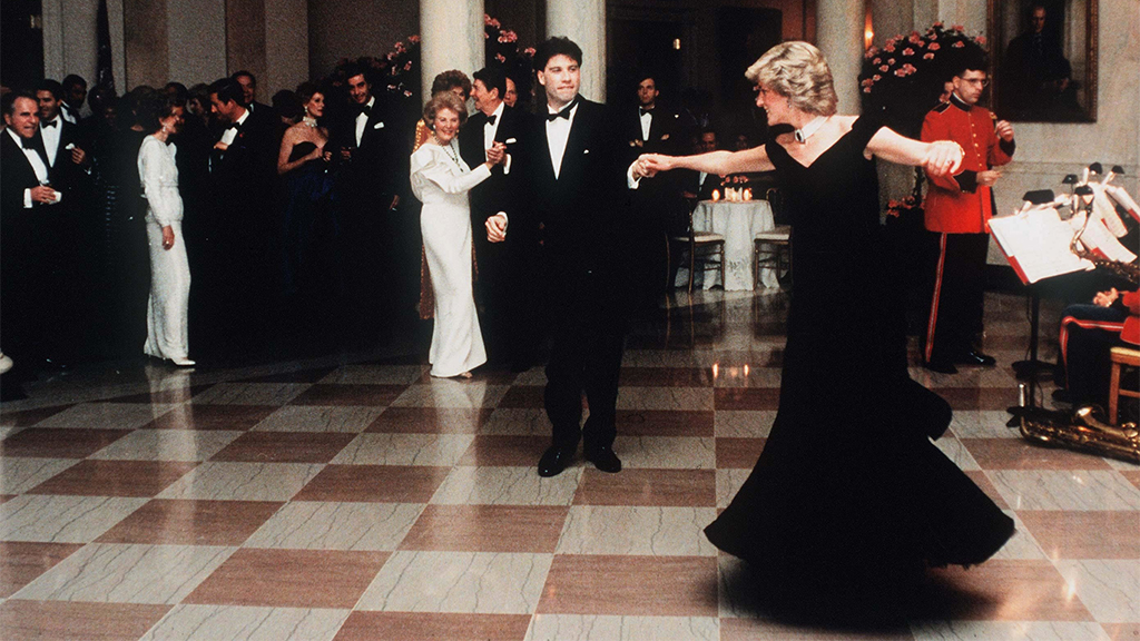 Princess Diana's iconic dress worn during John Travolta dance is up for auction