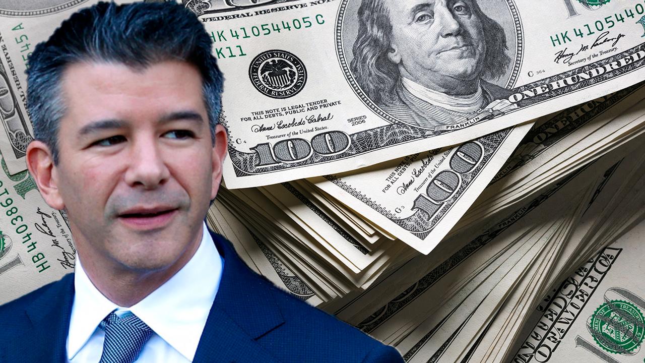 Uber co-founder Travis Kalanick rings the register on $164M of stock