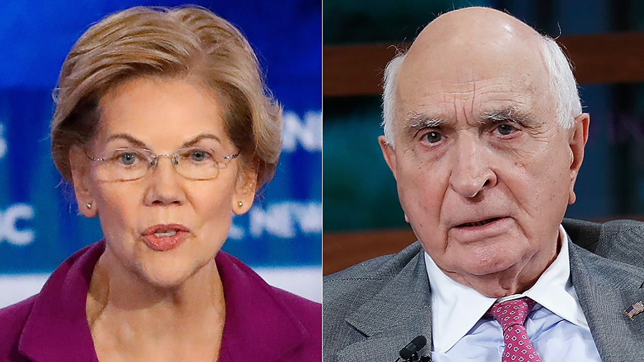 Ken Langone: Elizabeth Warren will 'make a mess' in four years