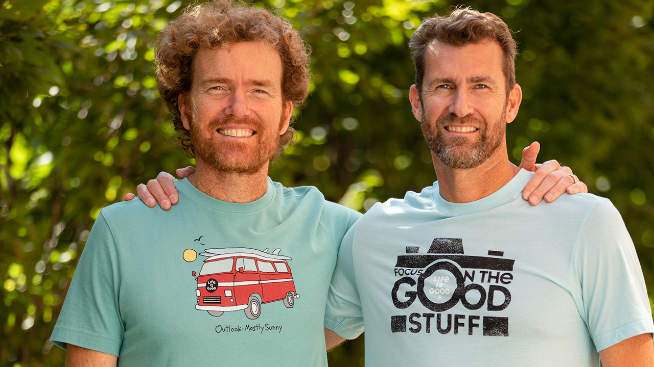 Brothers go from selling T-shirts in dorms to multimillion-dollar business
