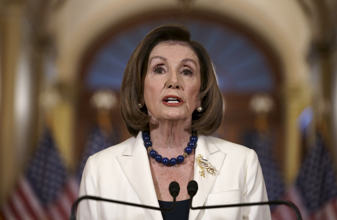 White House blasts Pelosi for advancing impeachment instead of USMCA