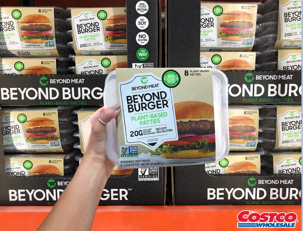 Costco to sell Beyond Meat burgers in select states