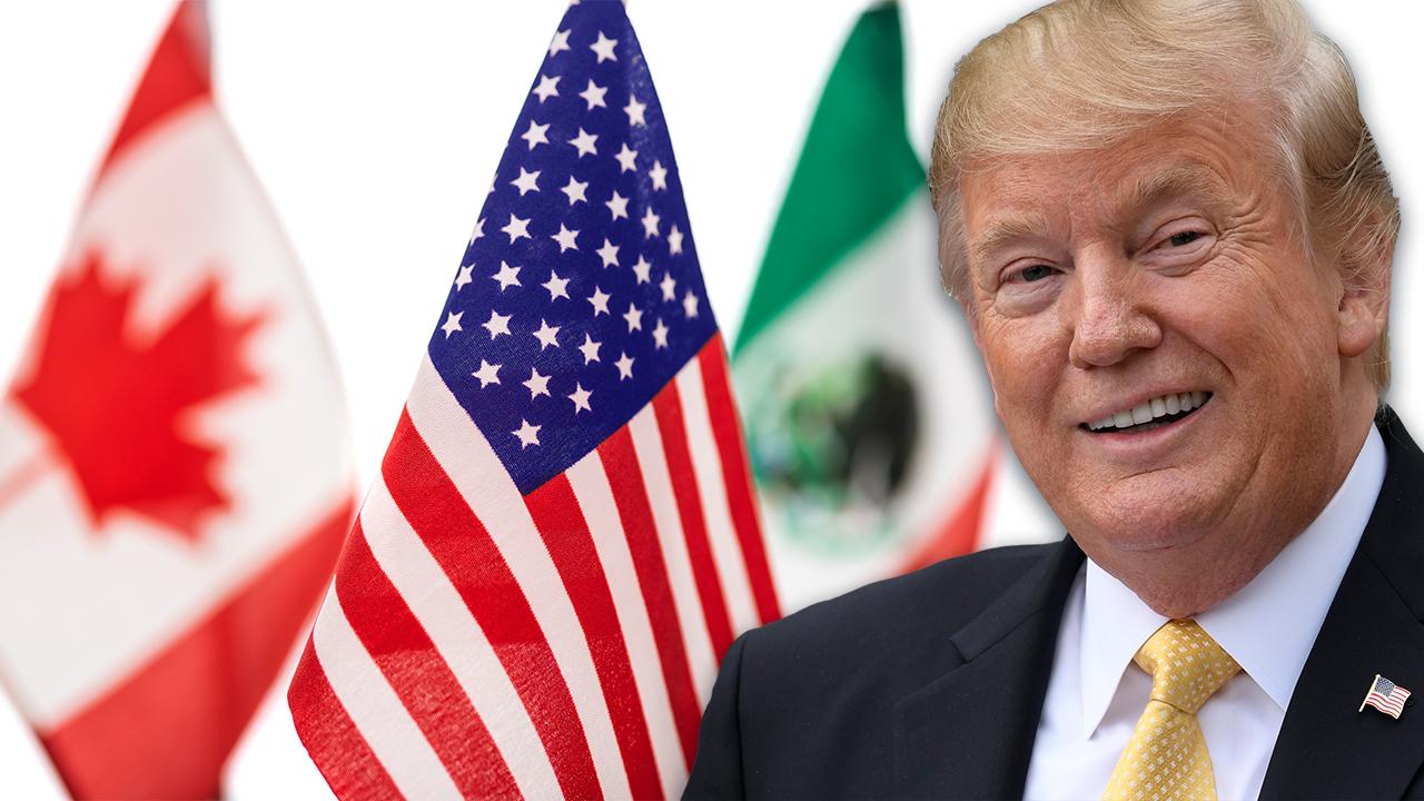 Bartiromo: Trump to sign USMCA trade deal into law Wednesday