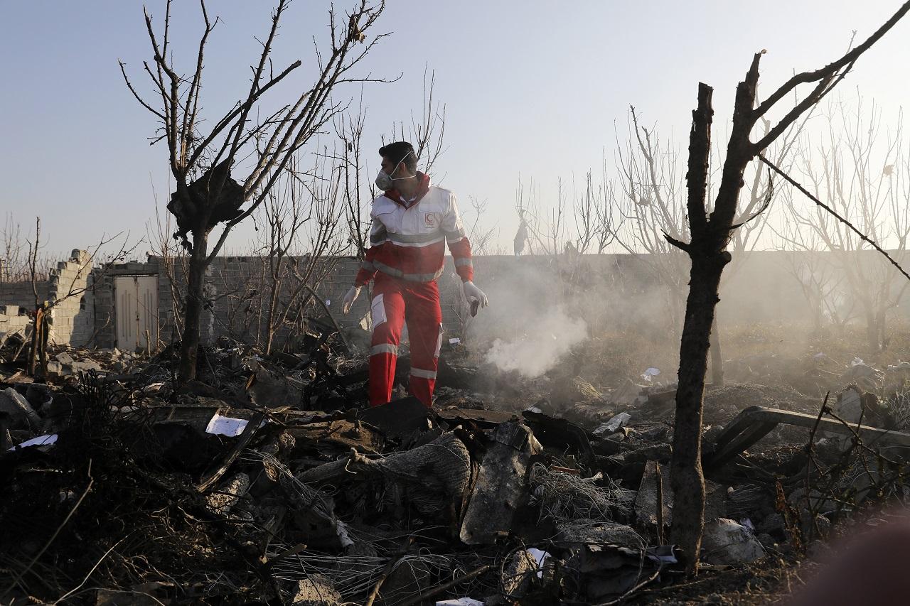 Boeing stock tumbles after Iran crash involving 737