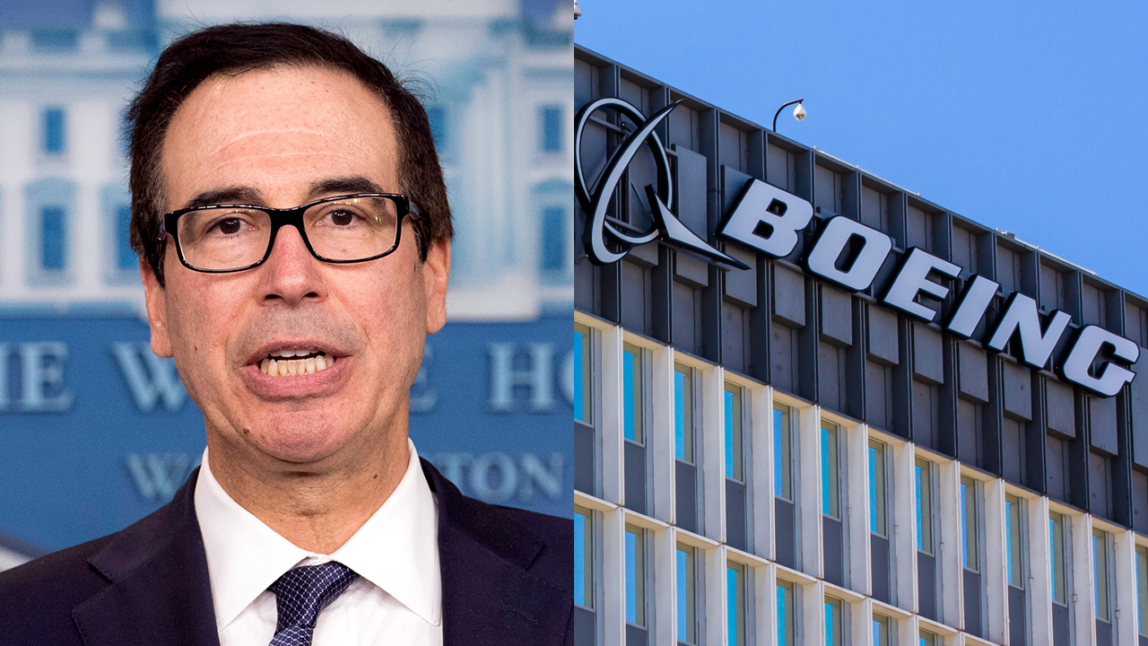 America would hit 3 percent growth without Boeing problems: Mnuchin