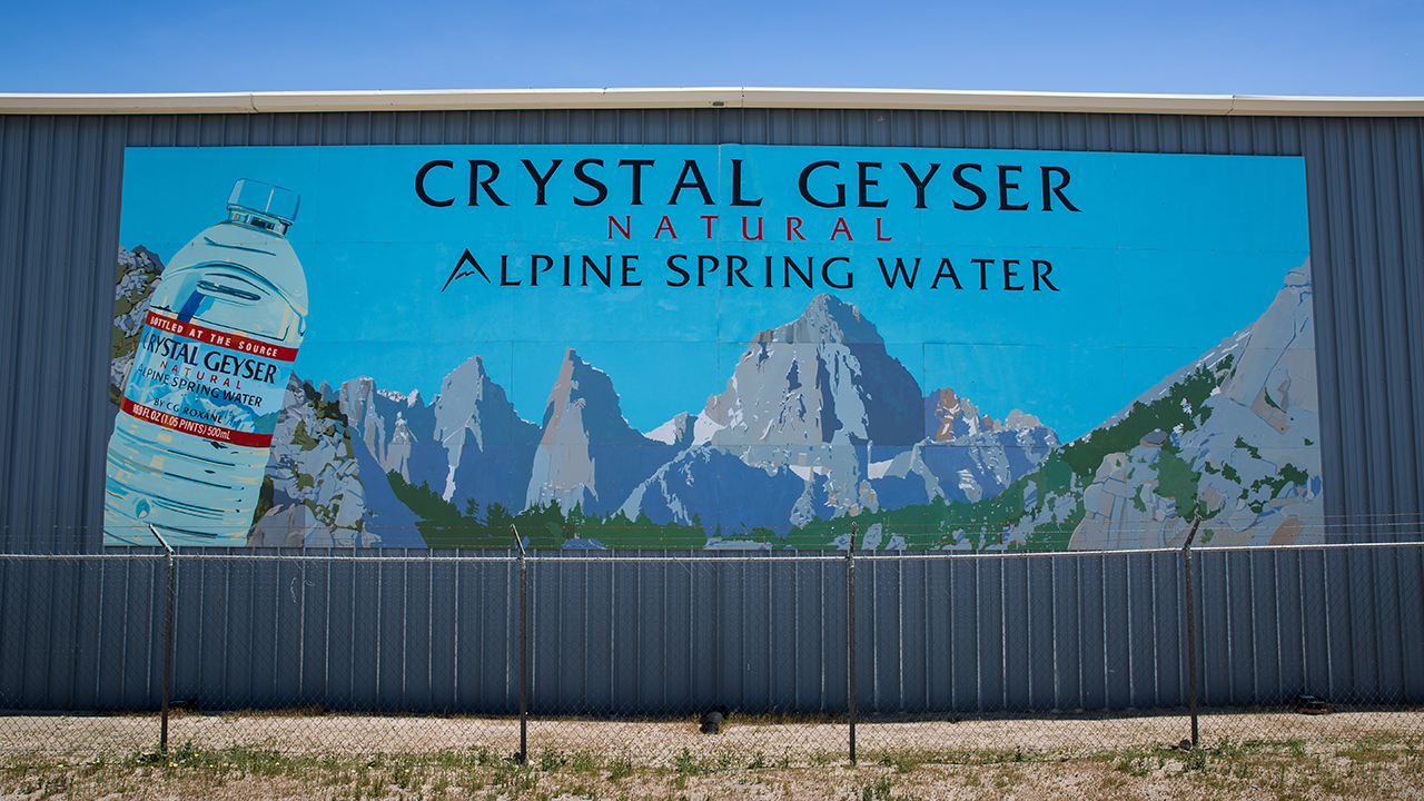 Crystal Geyser bottled water maker admits dumping arsenic in Californian water
