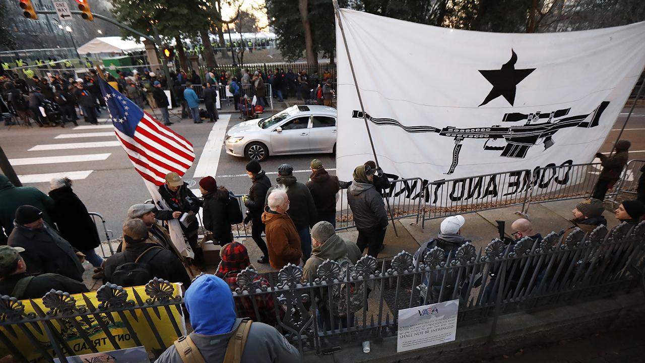 Virginia gun sales near 30-year high as demonstrators descend on Richmond
