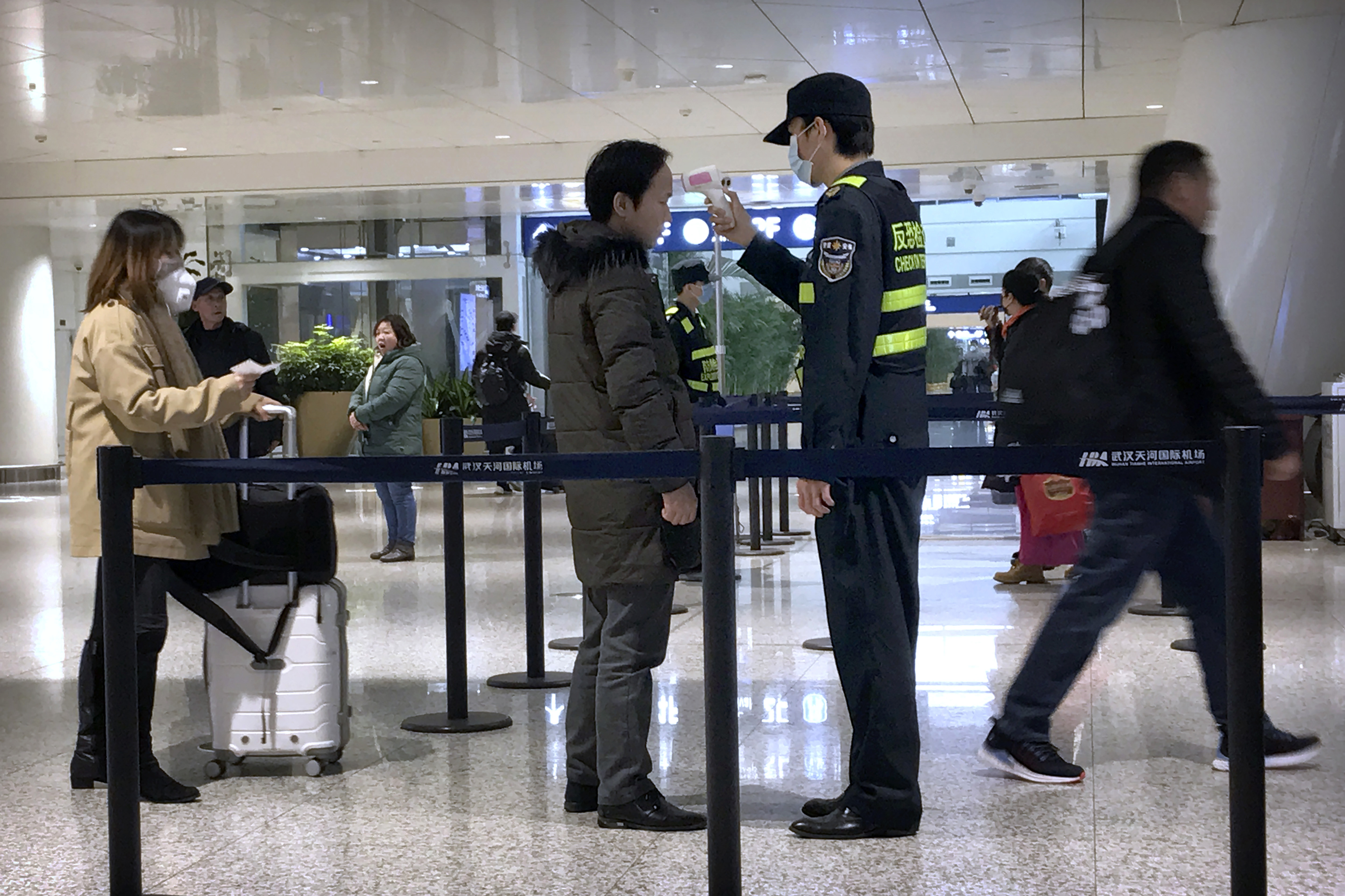 Coronavirus screenings coming to two more airports as first case hits US