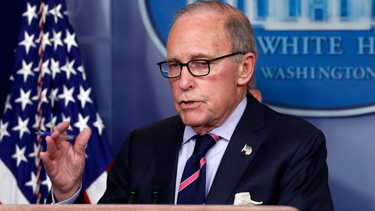 National Economic Council Director Larry Kudlow argues the worst of the coronavirus pandemic is over and the U.S. economy is getting ready to reopen. He also discussed the GDP drop and Gilead's progress in Remdesivir as a treatment.