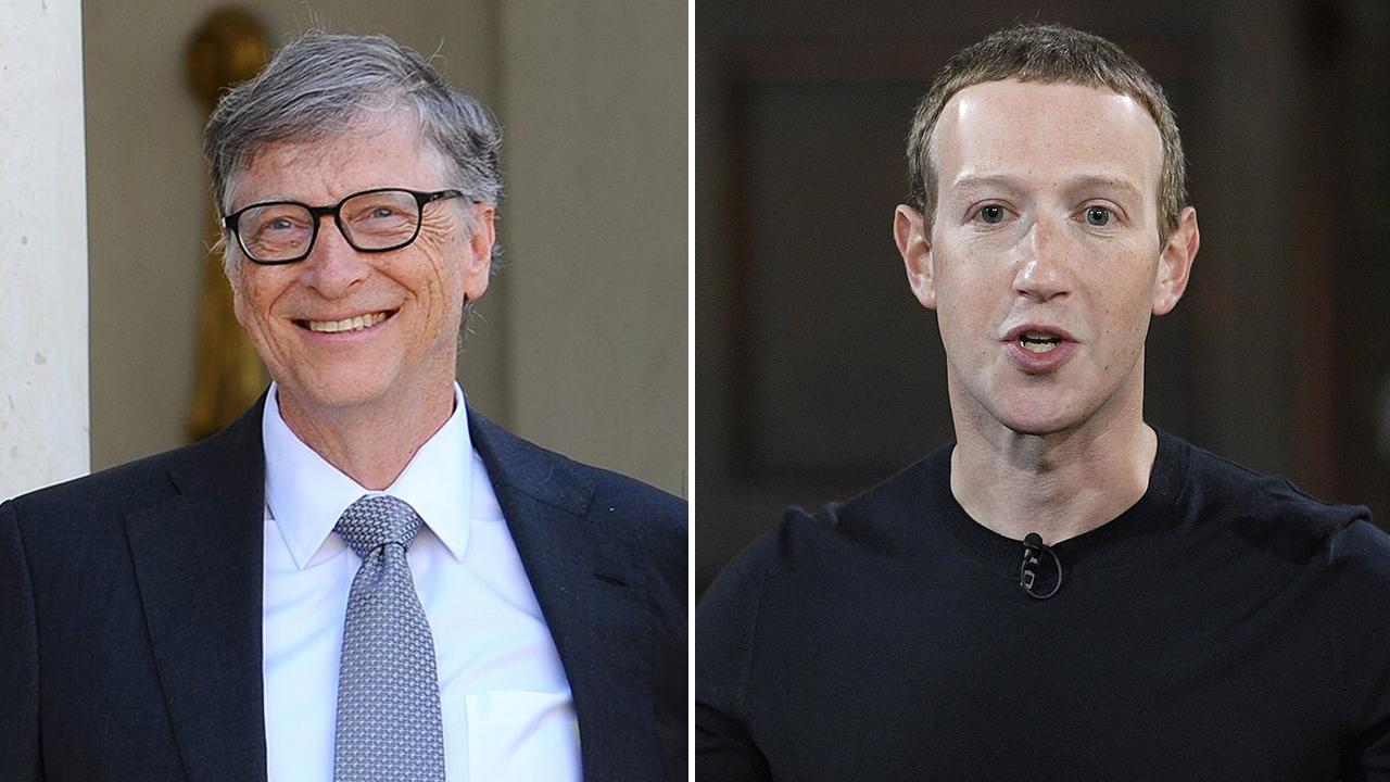 Zuckerberg, Gates join forces in coronavirus fight