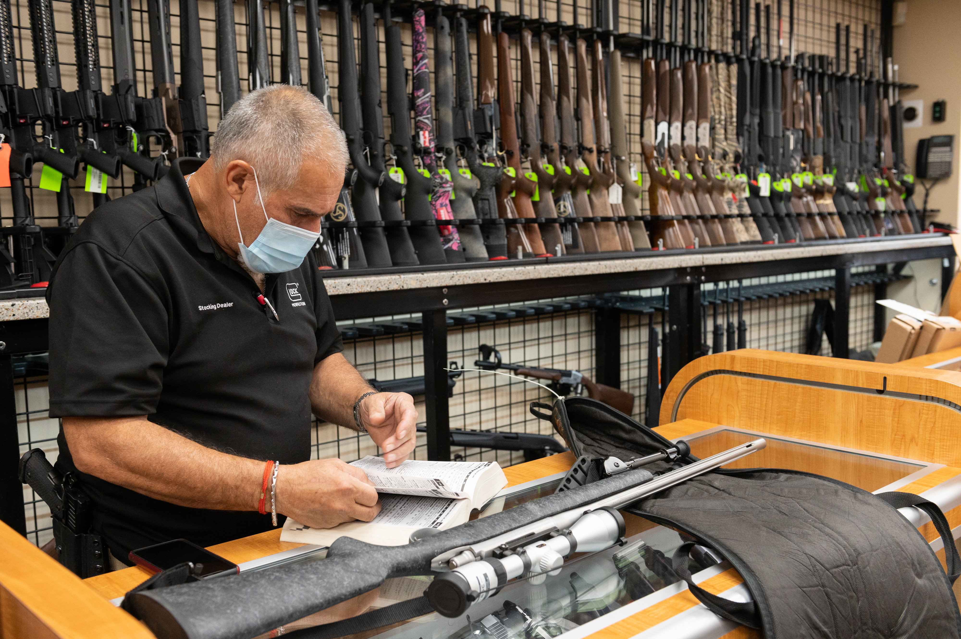 Brownells, Inc. Co-Chairman Pete Brownell says there's been an 'unbelievable demand' for guns in recent months.
