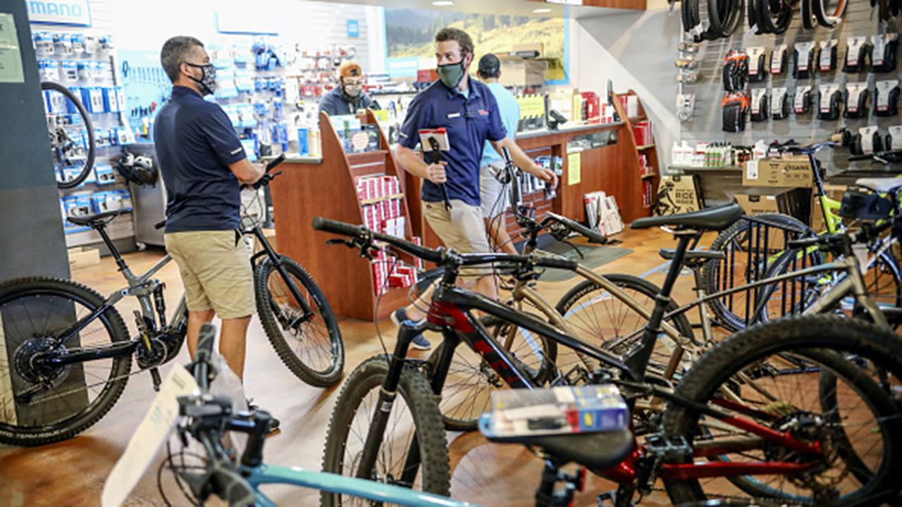 Arnold Kamler on his company's growing sales, bike riding