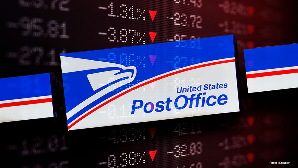 President Trump says his administration will run the U.S. Postal Service well while not losing as much money.