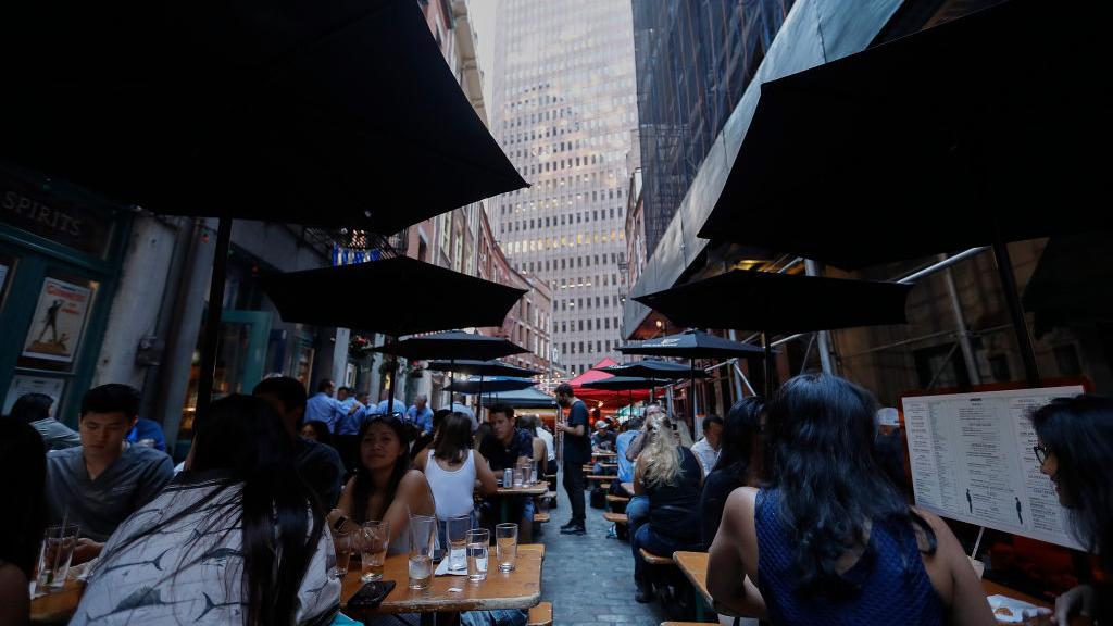 McLoone's Restaurants founder Tim McLoone on how coronavirus restrictions have impacted his restaurants.