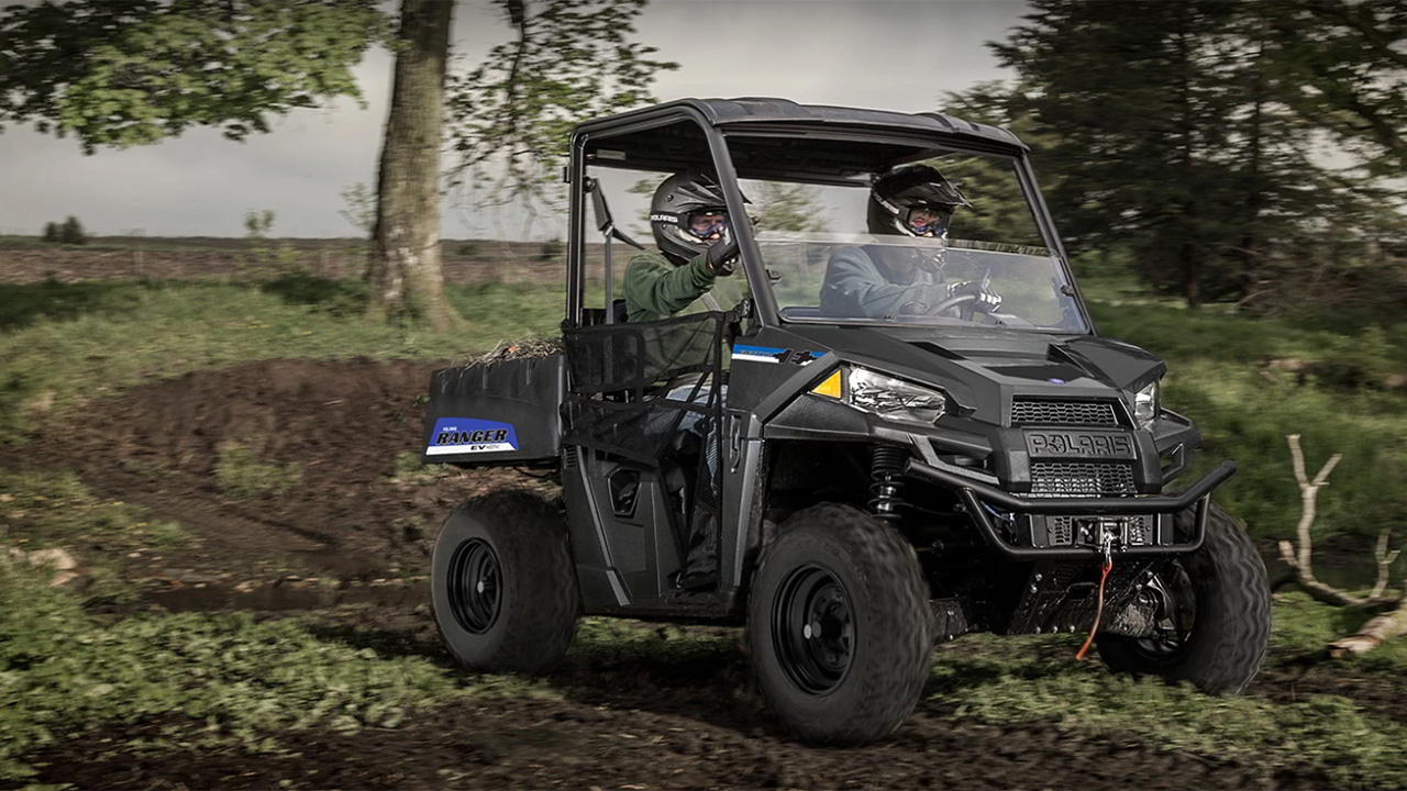 Polaris CEO Scott Wine discusses his sports utility company and says coronavirus lockdowns have prompted more Americans to explore their own backyard and try off-road vehicles.