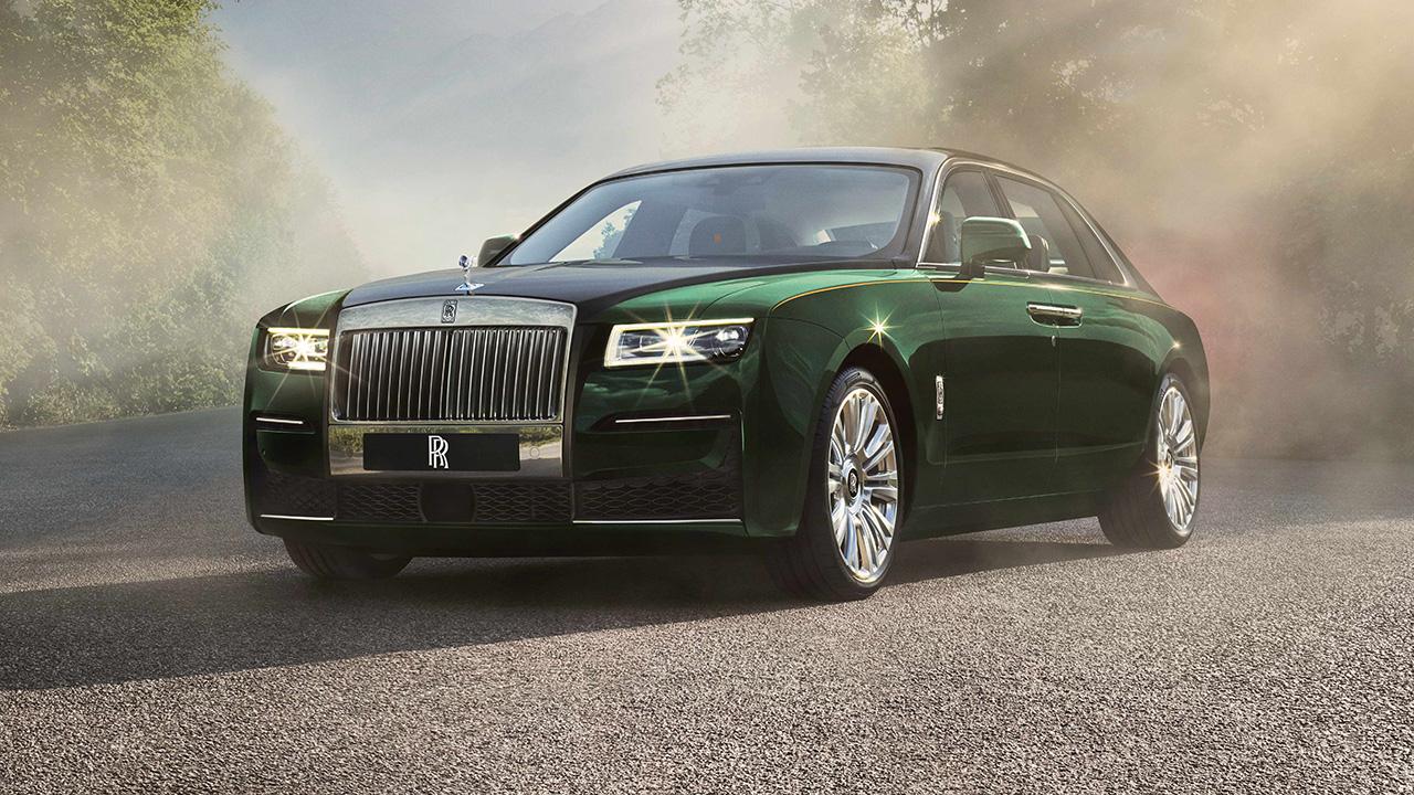 Rolls-Royce CEO Torsten Muller-Otvos on the automakers newest luxury model.